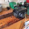Photo #5 - Before shot of the chainsaw