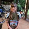 Photo #2 - This is how she wore it to school for her book parade