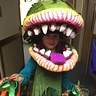 Photo #1 - My daughter in Audrey II costume.