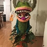 Photo #3 - Front of Audrey II costume.