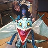Photo #4 - Avatar Neytiri riding Banshee