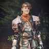 Photo #1 - Aveline costume, represented by my brother.