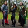 Photo #1 - Thor, Black Widow, and Loki