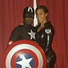 Photo #4 - Agent Marie Hill and Captain America