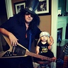 Photo #1 - Baby Slash and Axl from Guns N' Roses