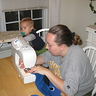 Photo #4 - Helping mommy with sewing