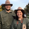 Photo #2 - My husband and I sporting our finest safari guide gear!