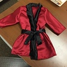 Photo #4 - Finished the robe on my work lunch!