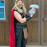 Photo #1 - Thor and his mighty hammer Mjolnir