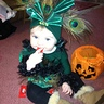 Photo #1 - Cali-Skye First Halloween as a Peacock