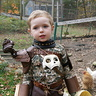 "Photo #5 - ...and for the cute factor: ""Do you think the chickens will be scared?"""