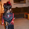 Photo #4 - back of her Rufio costume