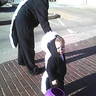 Photo #1 - Mommy Skunk and Baby Skunk Costume