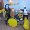Photo #1 - Malaki the Backhoe