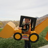 Photo #1 - Ben the Backhoe finally sitting still for a pic