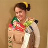Photo #1 - Danielle's grocery bag costume