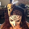 Photo #5 - Close up of headpiece and makeup