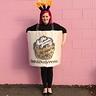 Photo #2 - DIY HALLOWEEN WOMEN'S CANDLE COSTUME
