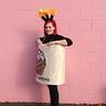 Photo #3 - Creative cute women's DIY costume