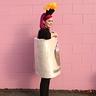 Photo #4 - Women's Homemade Creative DIY Halloween Costume