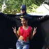 Photo #3 - Batman with a fan.