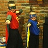 Photo #2 - Batman and robin posing