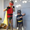 Photo #2 - Jack as Robin and Ben as Batman