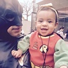 Photo #4 - happy robin with daddy batman