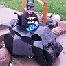 Photo #1 - Batman in his Batmobile