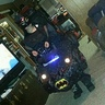Photo #1 - Batman in the Bat Mobile
