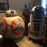 Photo #2 - BB-8 and R2-D2