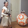 Photo #4 - BB-8 and Rey