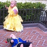 Photo #1 - Belle and the Beast after he fell and became Prince Adam