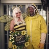 Photo #1 - Beekeeper and #Bumble bee