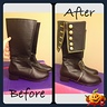 Photo #9 - Prince Adams Boots that I altered