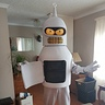 Photo #6 - Dancing Bender Mascot Suit