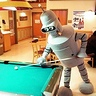 Photo #1 - Bender shooting Pool