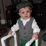 Photo #1 - Benjamin Button and his custom-fit walker!