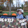 Photo #1 - Logan getting ready to go fishing for Halloween treats