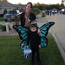 Photo #3 - Mom (costume maker) and Daughter (butterfly)