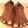 Photo #3 - Owen's bigfoot feet