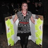 Photo #1 - This is Lisa Johnson posing as one of the women while wearing the Binder Full of Women.