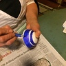 Photo #4 - Painting the bingo balls