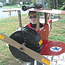 DIY Bi-Plane Pilot Costume