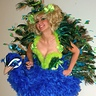 Photo #2 - Niece - as Peacock