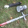 Photo #4 - Helmet, Arm, and Sword
