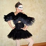 Photo #3 - Black Swan Costume w/ wings