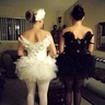 Photo #2 - Black Swan & White Swan
