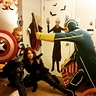 Photo #3 - Captain America & Black Widow vs. Kick Ass