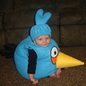 Photo #6 - Blue Angry Bird costume